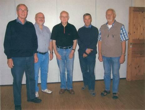 Uwe Stoffers, Dieter Groß, Herbert Ladehoff, Joachim Schnoor, Klaus Rethwisch sowie Hans - Otto Sindt (†1988).
